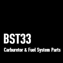 BST33 Carburetor and Fuel System Parts