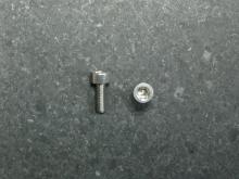Socket Head Cap Screw, M3X8, 912-A2 M3X8